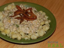 Cream Cheese Pasta with Hamburger